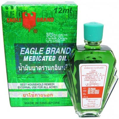 EAGLE MEDICATED OIL 12ML