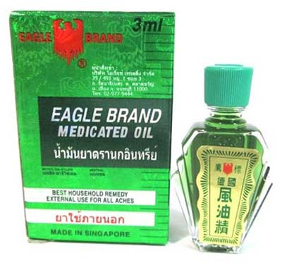 EAGLE MEDICATED OIL 3ML