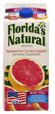 FLORIDA NATURAL DRINK