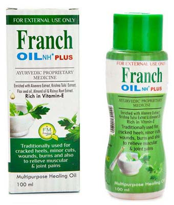 FRANCH HERBAL HAIR OIL 100ML