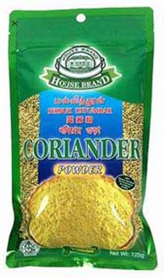HOUSE BRAND CORIANDER POWDER 250G