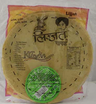 LIJJIAT PAPAD