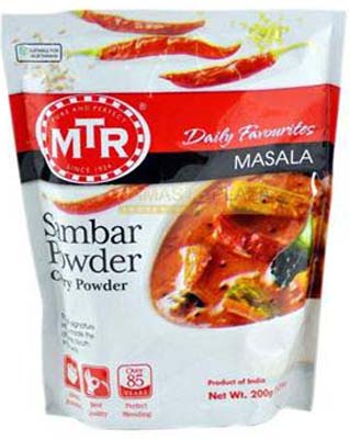 MTR SAMBAR POWDER 200G