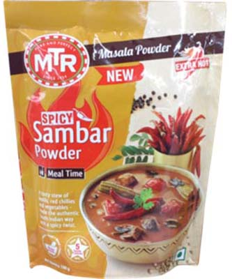 MTR SPICY SAMBAR POWDER 100G