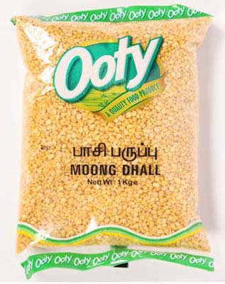 Ooty Green Moong Dhall 500G